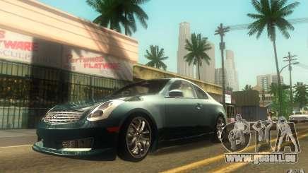 Infiniti G35 - Stock pour GTA San Andreas
