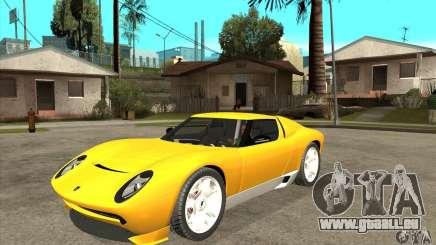 Lamborghini Miura Concept 2006 pour GTA San Andreas