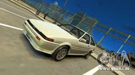 Toyota Corolla AE86 EPM v3.0 pour GTA 4