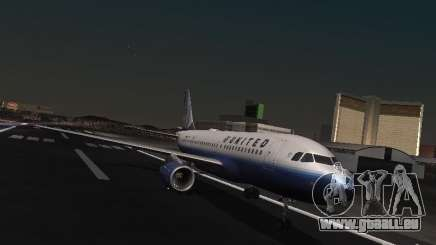 Airbus A319 United Airlines pour GTA San Andreas