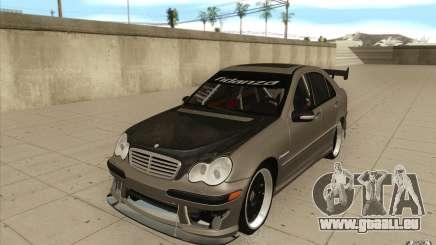 Mercedes-Benz C32 AMG Tuning für GTA San Andreas