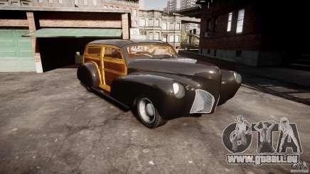 Chevy Fleetmaster Woody Kustom 1948 pour GTA 4