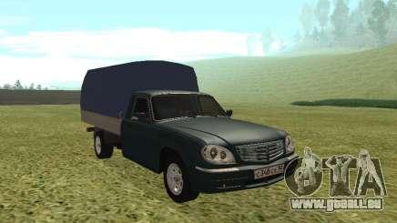 GAZ 17310 Trofim d'Olive pour GTA San Andreas
