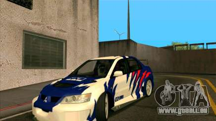 Mitsubishi Lancer Evolution 8 MostWanted für GTA San Andreas