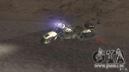 Moto de la police de GTA TBoGT pour GTA San Andreas