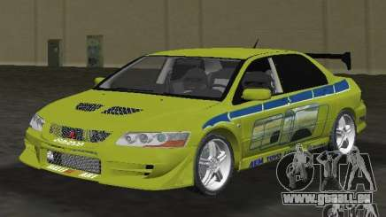 Mitsubishi Lancer Evolution VII pour GTA Vice City