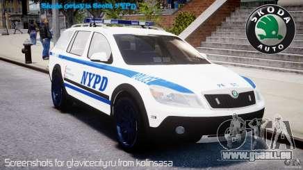 Skoda Octavia Scout NYPD [ELS] für GTA 4