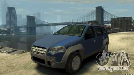 Fiat Palio Adventure Locker für GTA 4