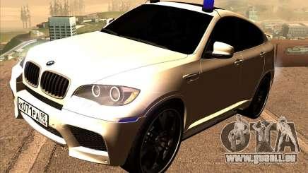 BMW X6 M E71 pour GTA San Andreas
