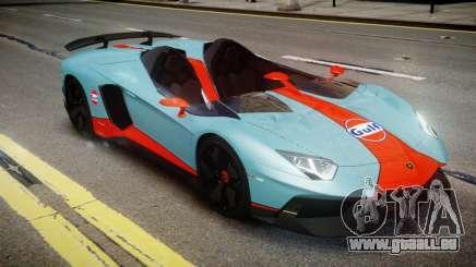 Lamborghini Aventador J 2012 Gulf für GTA 4