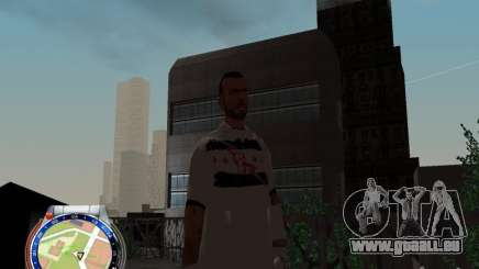CM PUNK 2011 attaer pour GTA San Andreas