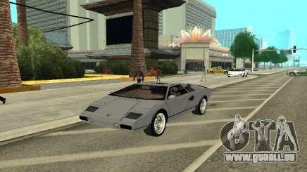 Lamborghini Countach LP400 für GTA San Andreas