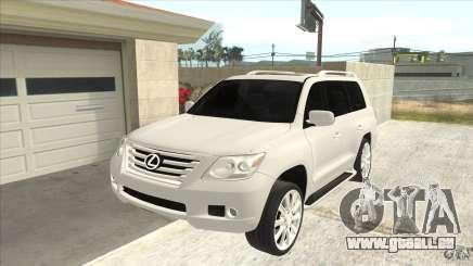 Lexus LX 570 pour GTA San Andreas