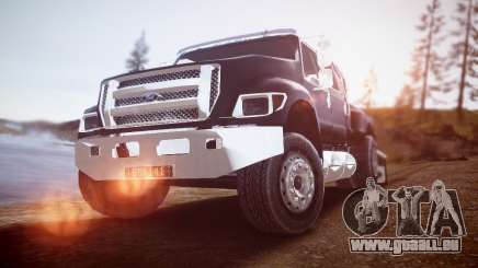 Ford F-650 Super Crewzer pour GTA 4