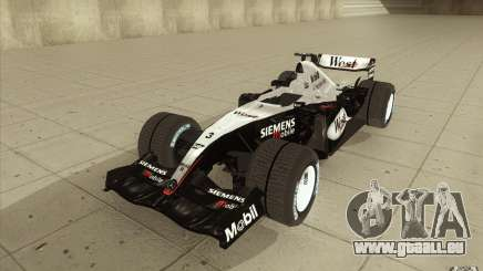 McLaren Mercedes MP 4-19 pour GTA San Andreas