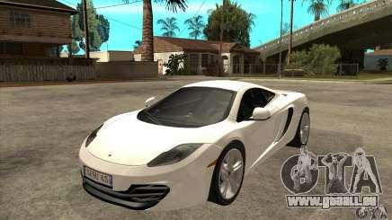 McLaren MP4 12c pour GTA San Andreas