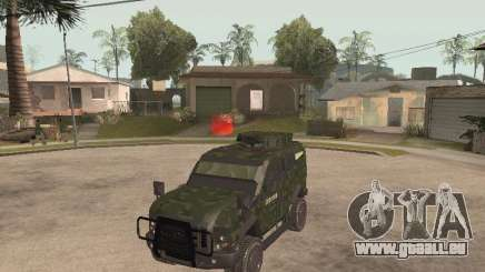 Oshkosh SandCat of Mexican Army pour GTA San Andreas