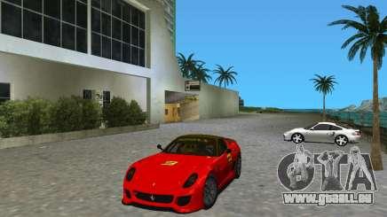 Ferrari 599 GTO pour GTA Vice City