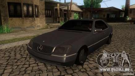 Mercedes Benz 600 Sec pour GTA San Andreas