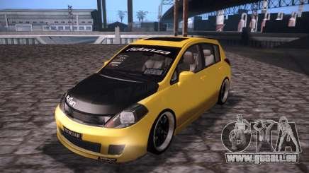 Nissan Versa Tuned pour GTA San Andreas