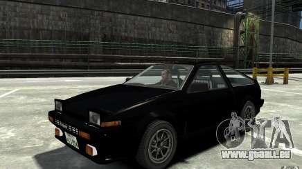 Toyota Sprinter Trueno AE86 für GTA 4