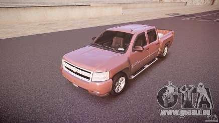 Chevrolet Silverado 1500 v1.3 2008 pour GTA 4
