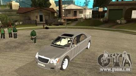 Maybach 62 für GTA San Andreas