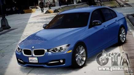 BMW 335i F30 2012 Sport Line v1.0 pour GTA 4