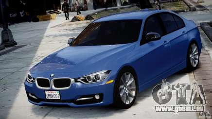BMW 335i F30 2012 Sport Line v1.0 für GTA 4