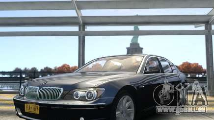 BMW 7 Series E66 2011 pour GTA 4