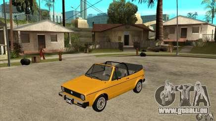 Volkswagen Rabbit Convertible für GTA San Andreas