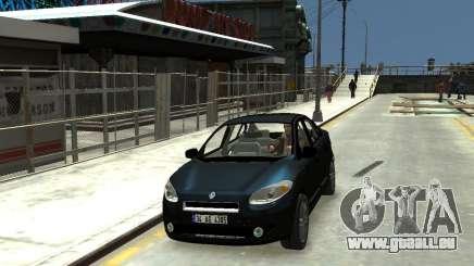 Renault Fluence für GTA 4
