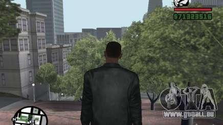 Jacke ohne ein Bild von hinten für GTA San Andreas