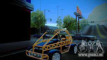 Buggy From Crash Rime 2 für GTA San Andreas