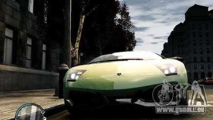 Lamborghini Murcielago LP 670-4 SuperVeloce 2010 pour GTA 4