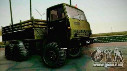 KAMAZ 4310 armée pour GTA San Andreas