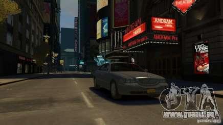 Lincoln Town Car 2003-11 v1.0 pour GTA 4