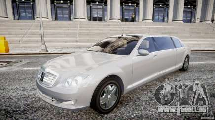 Mercedes-Benz S600 Guard Pullman 2008 für GTA 4