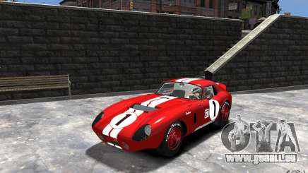 Shelby Cobra Daytona Coupe 1965 pour GTA 4