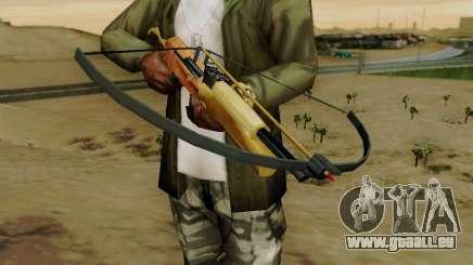 Eine arbeiten-Armbrust mit Pfeilen für GTA San Andreas