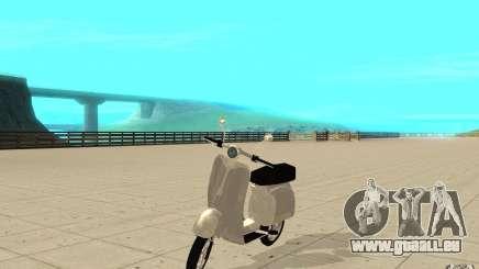 GTAIV EFLC Faggio Classic pour GTA San Andreas