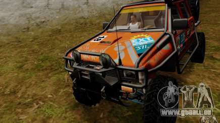 Nissan Navara Off-Road pour GTA San Andreas
