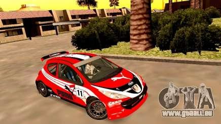 Peugeot 207 S2000 Puma pour GTA San Andreas