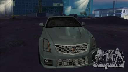 Cadillac CTS-V argent pour GTA San Andreas