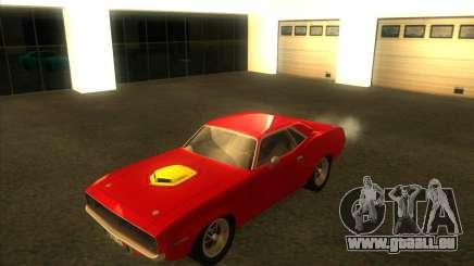 Plymouth Hemi Cuda pour GTA San Andreas