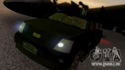 Suv Call Of Duty Modern Warfare 3 pour GTA San Andreas
