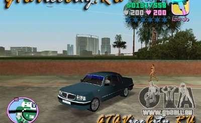 Volga Gaz 3110 für GTA Vice City