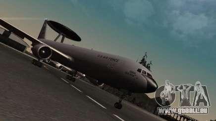 Boeing E-767 U.S Air Force für GTA San Andreas