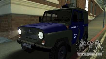 UAZ 3151 Polizei für GTA San Andreas