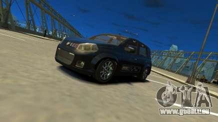Fiat Novo Uno Sporting für GTA 4